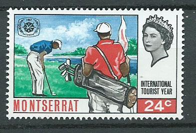 Montserrat SG 193 Mint Very Light Hinge