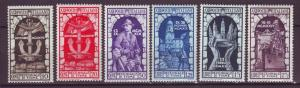 J21556 Jlstamps 1933 italy part of set mh #315-20 designs