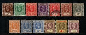 Leeward Islands #61-74   Mint  Scott $66.25