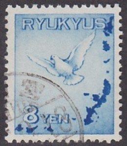 Ryukyu Islands C1 used (1950)