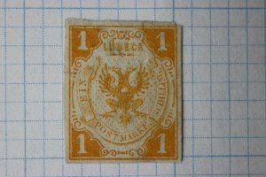 Lubeck Germany sc#2 yellow 1sh cv$2,000 but thin fault