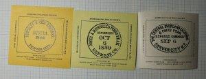 APS Convention Central Overland CA Express Denver CO 1948 Philatelic Souvenir Ad