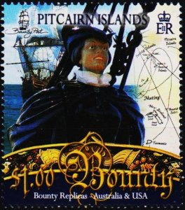 Pitcairn Islands. 2007 $1 Fine Used