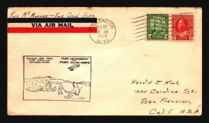 Canada 1929 Ft McMurray to Ft Good Hope - Z17433