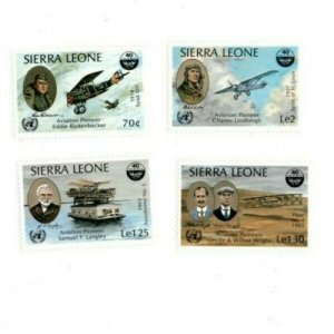 Sierra Leone MNH 680-3 Aviation Pioneers