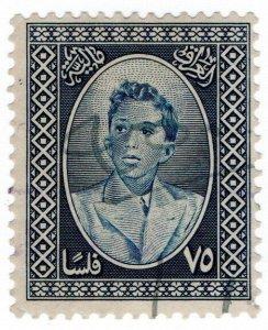 (I.B) Iraq Revenue : Duty Stamp 20f (King Faisal II)