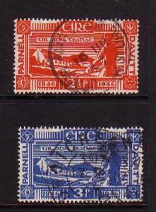 Ireland Sc 133-4  Parnell & Davitt stamps used