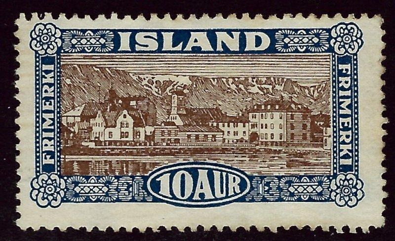 Iceland SC#145 Mint F-VF SCV$40.00..Fill a Key Spot!!