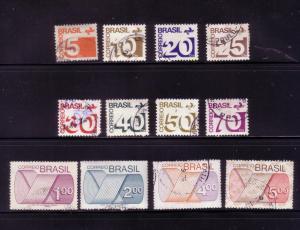 Brazil Sc.# 1248 / 1260 Used - short 1250