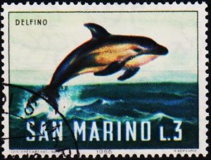 San Marino. 1966 3L S.G.806 Fine Used