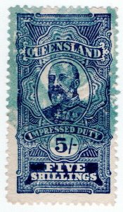(I.B) Australia - Queensland Revenue : Impressed Duty 5/-