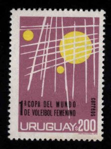 Uruguay Scott 885 Volleyball stamp