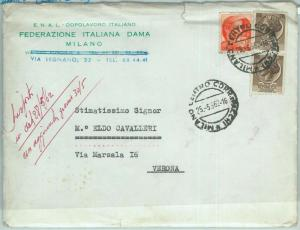 67911 - ITALY - POSTAL HISTORY -  HEADED COVER:  CHESS Draughts checkers 1962