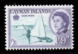 Cayman Islands 1962 QEII 1/9d Water Sports SG 176 mint CV £20
