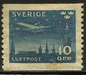 Sweden Air Mail 1930 Scott# C6 MNG or Used