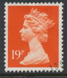 Great Britain SG X956 Sc# MH106    Used with first day cancel - Machin 19p