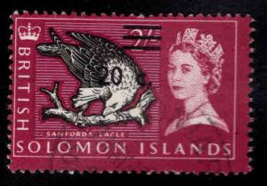 British Solomon Islands Scott 161 used surcharged stamp