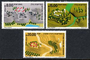 Israel 834-836, MNH. Golan, Galil, Yehuda and Shomeron, 1983