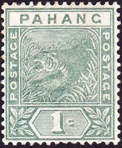 MALAYA PAHANG 1895 1c Green SG11 MH
