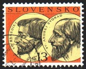 Slovakia. 2003. 455. Saint Benedict and Priest Andrei Svorad. USED.