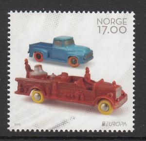 Norway 2015 17k Tomte toy cars - Old Toys - EUROPA