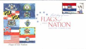 #4301 FOON: Missouri Flag Edken FDC