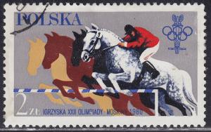 Poland 2380 USED 1980 XXII Summer Olympic Games, Moscow 2z?