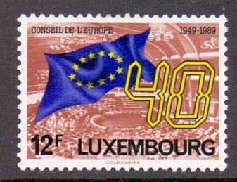 Luxembourg  1989  MNH council of europe