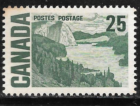 Canada 465: 25c Solemn Land by J.E.H. MacDonald, MNH, VF