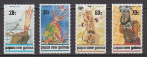 Papua New Guinea MNH 721-4 Designs 1989