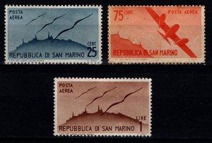 San Marino 1946 Air Mail, Part Set [Unused]