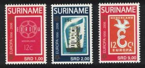 Suriname 50th Anniversary of Europa Stamps 3v SG#2140-2142