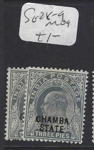 INDIA CHAMBA  (PP2410B)  KE   3P  SG 28-9   MOG