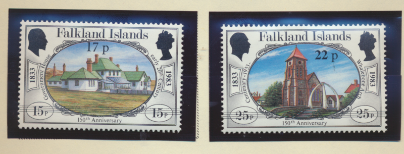 Falkland Islands Stamps Scott #402 To 403, Mint Never Hinged - Free U.S. Ship...