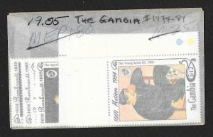 GAMBIA Sc#1474-1481 Mint Never Hinged Complete Set