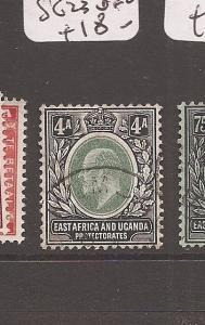 E Africa & Uganda KE SG 23 VFU (10awl)