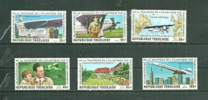 Togo Perf. International Flights 6v Scott 957-58, C312-15 MNH