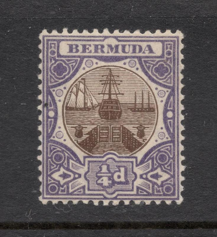 Bermuda #31 Purple & Brown - Unused - O.G.