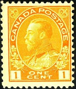 Canada #105 MINT OG HR