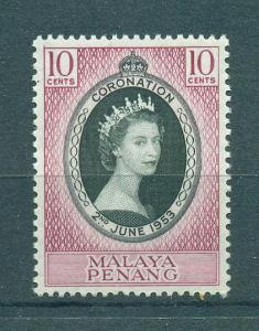 Malaya - Penang sc# 27 mlh cat value $2.25