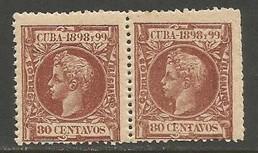 Cuba 173 MNH PAIR 832F-1