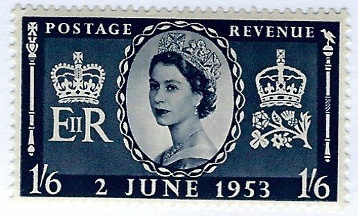 Great Britain SC#316 MNH VF...Worth a close look!!