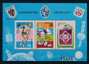 [55115] Uruguay 1976 Olympic games Stamp on stamp Telephone MNH Sheet