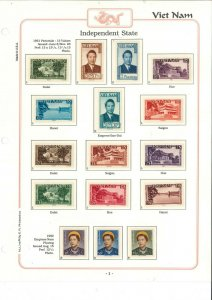 South Viet Nam - 1975 - Sc 1-516 - Complete stamp collection - MNH