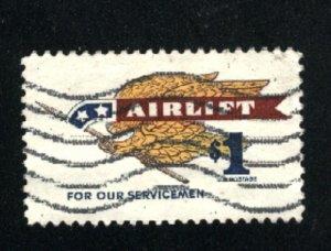 USA 1341   u VF  1968 PD