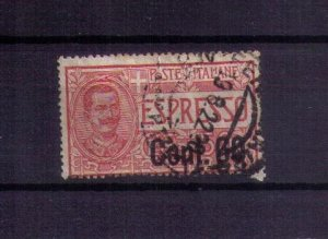 ITALY Sc #E11 Victor Emmanuel King Expesso Used (1903):