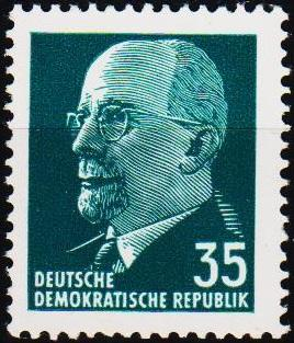 Germany(DDR). 1961 35pf S.G.E582a Unmounted Mint