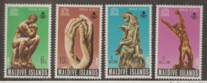 Maldive Islands Scott #294-297 Stamp - Mint Set
