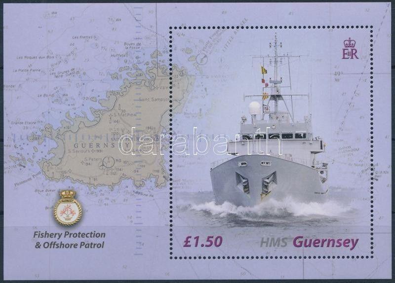 GB Guernsey stamp Ship block MNH 2003 Mi 34 WS176203