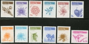 TOGO Sc#1862-1873 1999 Flowers Complete Mint NH